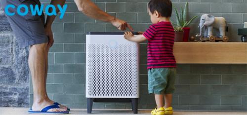 在2021_CES备受关注的空气净化器,Coway